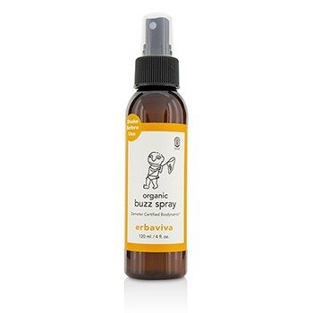 Erbaviva Organic Buzz Spray  120ml/4oz