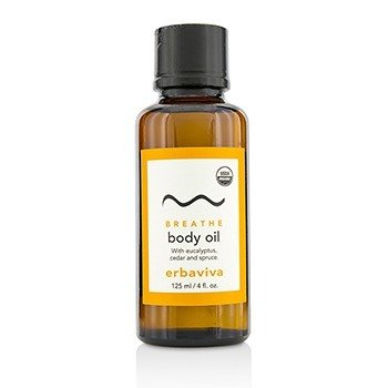 Erbaviva Breathe Body Oil  125ml/4oz