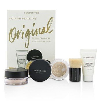 BareMinerals Get Started Mineral Foundation Kit - # 03 Fairly Light  4pcs