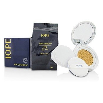 IOPE Air Cushion SPF50 With Extra Refill - #N21 (Natural Vanilla)  2x15g/0.525oz