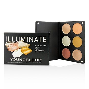 Youngblood Illuminate Palette  13.2g/0.46oz