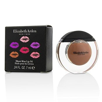 Elizabeth Arden Sheer Kiss Lip Oil - # 02 Nude Oasis  7ml/0.24oz