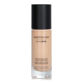 ベアミネラル BarePro Performance Wear Liquid Foundation SPF20 - # 05 Sateen  30ml/1oz