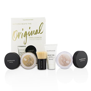 BareMinerals Get Started Mineral Foundation Kit - # 08 Light  4pcs