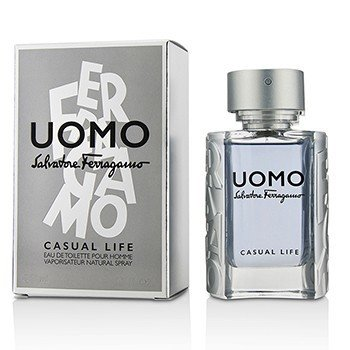 Salvatore Ferragamo Uomo Casual Life Eau De Toilette Spray  50ml/1.7oz