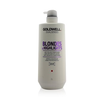 歌薇  Dual Senses Blondes & Highlights Anti-Yellow Conditioner (Luminosity For Blonde Hair)  1000ml/33.8oz