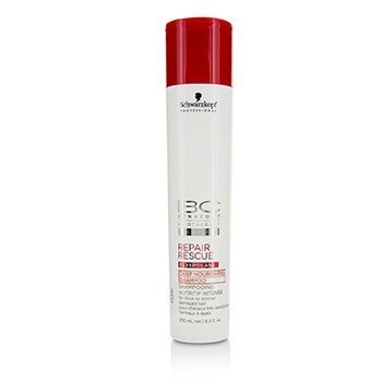 Schwarzkopf Szampo do włosów BC Repair Rescue Reversilane Deep Nourishing Shampoo (For Thick to Normal Damaged Hair)  250ml/8.5oz