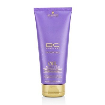 Schwarzkopf BC Oil Miracle Barbary Fig Oil & Keratin Restorative Shampoo (For Very Dry and Brittle Hair)  200ml/6.75oz
