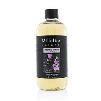Millefiori Natural Fragrance Diffuser Refill - Magnolia Blossom & Wood  500ml/16.9oz