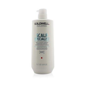 Goldwell Dual Senses Scalp Specialist Champú Limpiador Profundo (Limpiador Para Todos los Tipo de Cabello)  1000ml/33.8oz