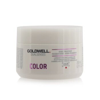 Goldwell Dual Senses Color Tratamiento de 60Seg  (Luminosidad Para Cabello Fino a Normal)  200ml/6.7oz