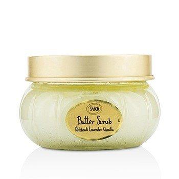 Sabon Butter Scrub - Patchouli Lavender Vanilla  200ml/7oz