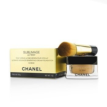 Chanel Sublimage Le Teint Ultimate Radiance Generating Cream Foundation - # 50 Beige  30g/1oz