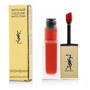 イヴサンローラン Tatouage Couture Matte Stain - # 1 Rouge Tatouage  6ml/0.2oz