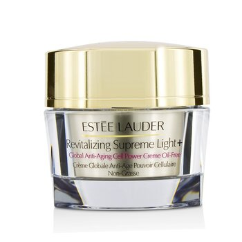 Estée Lauder  Revitalizing Supreme light +Global Anti-Aging Cell Power Creme Oil-Free  50ml/1.7oz
