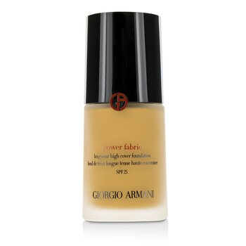 Giorgio Armani Power Fabric Longwear High Cover Foundation SPF 25 - # 6.5 (Medium Tan, Neutral)  30ml/1oz