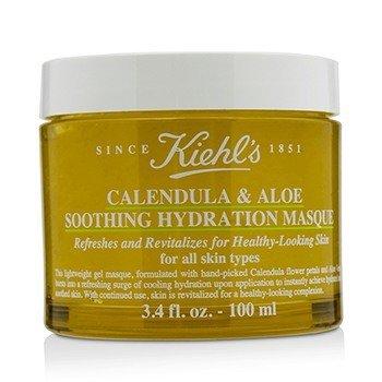 Kiehl's Calendula & Aloe Mascarilla Hidratante Calmante - Para Todo Tipo de Piel  100ml/3.4oz