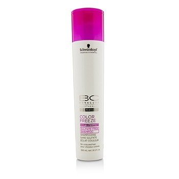 Schwarzkopf Szampon do włosów BC Color Freeze pH 4.5 Sulfate-Free Shampoo (For Coloured Hair)  250ml/8.5oz