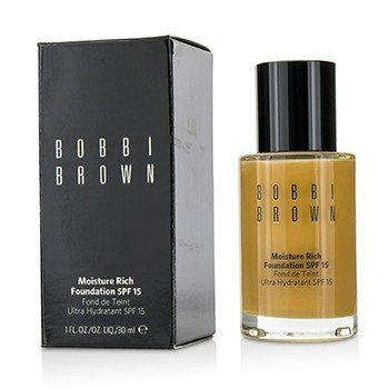 Bobbi Brown Moisture Rich Foundation SPF15 - #5.5 Warm Honey  30ml/1oz