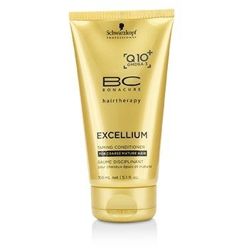 Schwarzkopf Odżywka do włosów BC Excellium Q10+ Omega 3 Taming Conditioner (For Coarse Mature Hair)  150ml/5.1oz