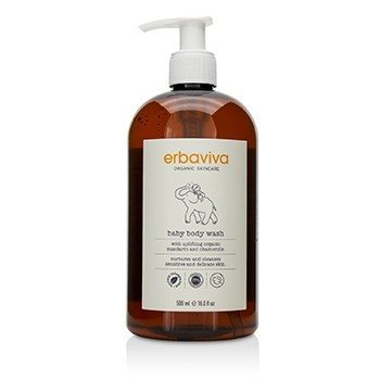 Erbaviva Baby Body Wash  500ml/16oz