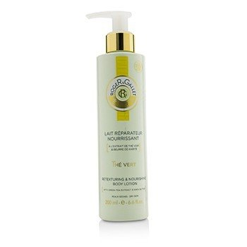 Roge & Gallet Green Tea (The Vert) Loción Corporal Retexturizante & Nutritiva (con Bomba)  200ml/6.6oz