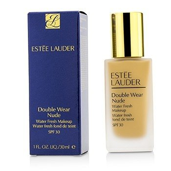 Estee Lauder Double Wear Nude Water Fresh Makeup SPF 30 - # 4N2 Spiced Sand  30ml/1oz