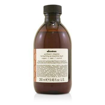 Davines Alchemic Shampoo - # Copper (For Natural & Coloured Hair)  280ml/9.46oz