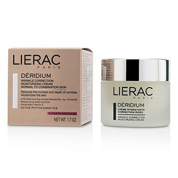 Lierac Deridium Wrinkle Correction Moisturizing Cream (For Normal To Combination Skin)  50ml/1.7oz