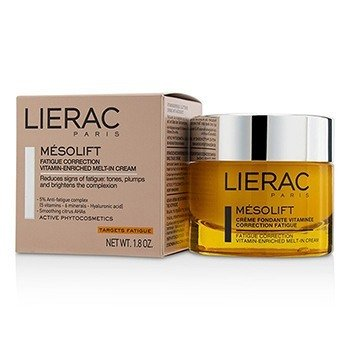Lierac Mesolift Fatigue Correction Vitamin-Enriched Melt-In Cream  50ml/1.8oz