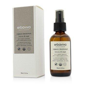 Erbaviva Lemon & Sage Organic Deodorant  110ml/3.5oz