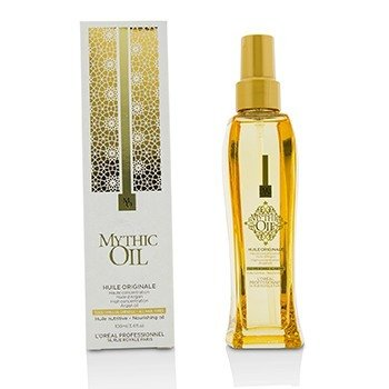 歐萊雅 Professionnel Mythic Oil Nourishing Oil with Argan Oil (All Hair Types)  100ml/3.4oz
