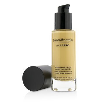 ベアミネラル BarePro Performance Wear Liquid Foundation SPF20 - # 08 Golden Ivory  30ml/1oz