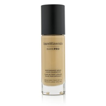 ベアミネラル BarePro Performance Wear Liquid Foundation SPF20 - # 10 Cool Beige  30ml/1oz