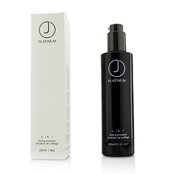 J贝弗利山  Platinum 5 IN 1 Styling Emulsion  250ml/8oz