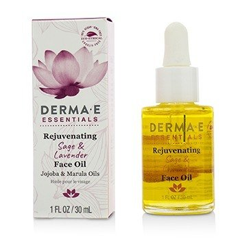 Derma E Essentials Rejuvenating Sage & Lavender Face Oil  30ml/1oz