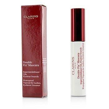 Clarins Double Fix Mascara (Waterproof Topcoat For Lashes, Eyebrow Groomer)  7ml/0.2oz