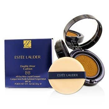 Estee Lauder Double Wear Cojín BB Compacto Líquido Uso de Todo el Día SPF 50 - # 5W1 Bronze  12g/0.42oz