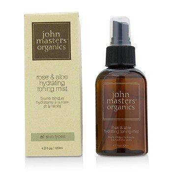 John Masters Organics Rose & Aloe Bruma Tonificante Hidratante  125ml/4.2oz
