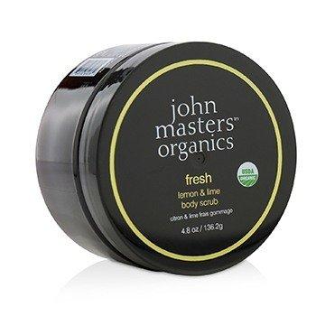 John Masters Organics Fresh Lemon & Lime Exfoliante Corporal  136.2g/4.8oz