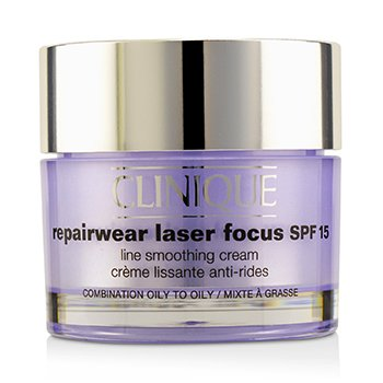 Clinique Repairwear Laser Focus Line Smoothing Cream SPF 15 - Combination Oily To Oily  50ml/1.7oz