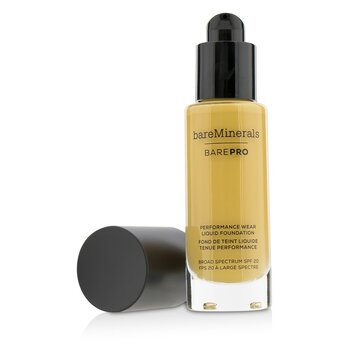 ベアミネラル BarePro Performance Wear Liquid Foundation SPF20 - # 19 Toffee  30ml/1oz