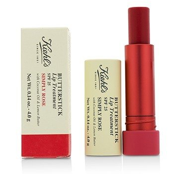 Kiehl's Butterstick Lip Treatment SPF25 - Simply Rose  4g/0.14oz