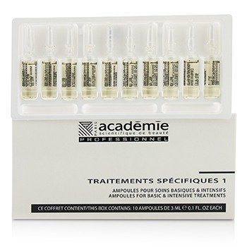 Academie Specific Treatments 1 Ampoules Sea Elastin - Salon Product  10x3ml/0.1oz