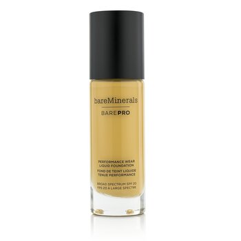 ベアミネラル BarePro Performance Wear Liquid Foundation SPF20 - # 16 Sandstone  30ml/1oz