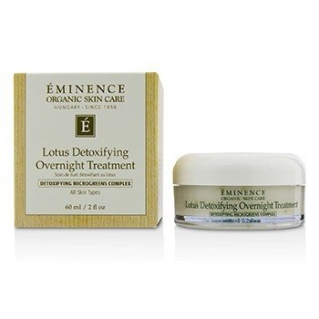 Eminence Lotus Detoxifying Overnight Treatment  60ml/2oz