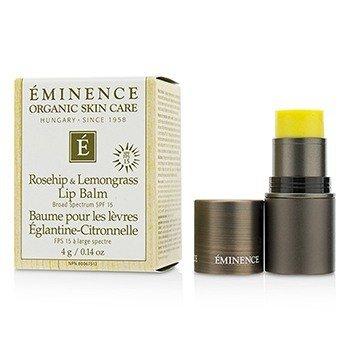 Eminence Rosehip & Lemongrass Lip Balm SPF 15  4g/0.14oz