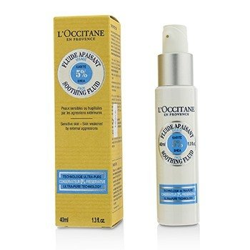 L'Occitane Shea 5% Face Soothing Fluid (For Sensitive Skin)  40ml/1.3oz