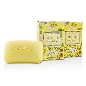 Crabtree & Evelyn Summer Hill Jabón de Baño Perfumado  3x100g/3.5oz