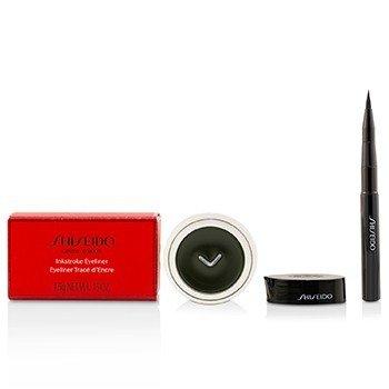 Shiseido Inkstroke Eyeliner - #GR604 Shinrin Green  4.5g/0.15oz